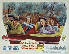 Mr. Blandings Builds His Dream House - 11 x 14 Movie Poster - Style D