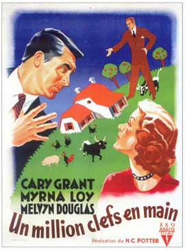 Mr. Blandings Builds His Dream House - 11 x 17 Movie Poster - French Style A