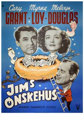 Mr. Blandings Builds His Dream House - 11 x 17 Movie Poster - Danish Style A