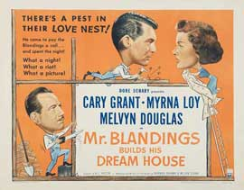 Mr. Blandings Builds His Dream House - 11 x 17 Movie Poster - Style C