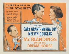 Mr. Blandings Builds His Dream House - 27 x 40 Movie Poster - Style C