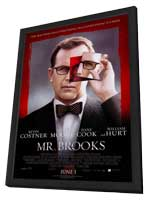 Mr. Brooks - 27 x 40 Movie Poster - Style A - in Deluxe Wood Frame