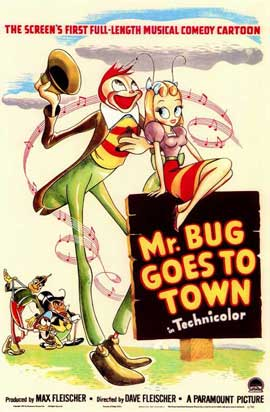 Mr. Bug Goes to Town - 11 x 17 Movie Poster - Style A