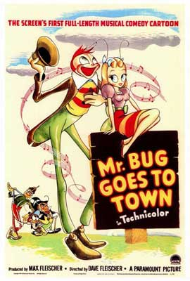 Mr. Bug Goes to Town - 27 x 40 Movie Poster - Style A