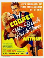 Mr. Deeds Goes to Town - 27 x 40 Movie Poster - Style B