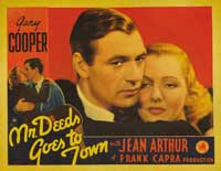 Mr. Deeds Goes to Town - 30 x 40 Movie Poster - Style A