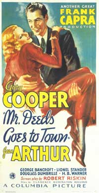 Mr. Deeds Goes to Town - 11 x 17 Movie Poster - Style C