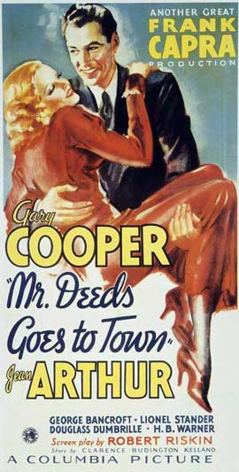 Mr. Deeds Goes to Town - 11 x 14 Movie Poster - Style A