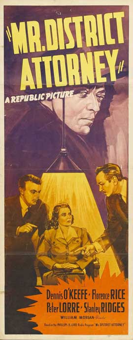 Mr. District Attorney - 14 x 36 Movie Poster - Insert Style A
