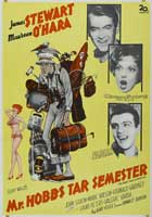 Mr. Hobbs Takes a Vacation - 11 x 17 Movie Poster - German Style A