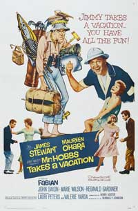 Mr. Hobbs Takes a Vacation - 27 x 40 Movie Poster - Style B