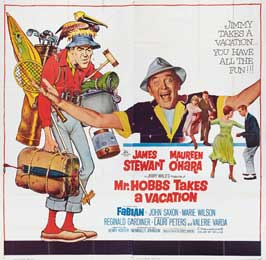 Mr. Hobbs Takes a Vacation - 30 x 30 Movie Poster - Style A