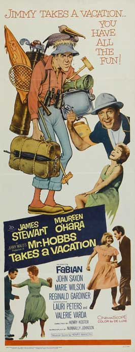 Mr. Hobbs Takes a Vacation - 14 x 36 Movie Poster - Insert Style A