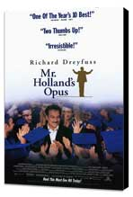 Mr. Holland's Opus - 11 x 17 Movie Poster - Style B - Museum Wrapped Canvas