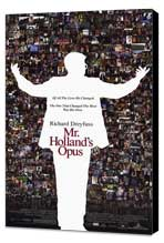 Mr. Holland's Opus - 27 x 40 Movie Poster - Style A - Museum Wrapped Canvas