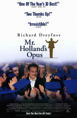 Mr. Holland's Opus - 11 x 17 Movie Poster - Style B