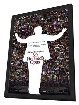 Mr. Holland's Opus - 27 x 40 Movie Poster - Style A - in Deluxe Wood Frame