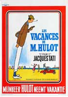 Mr. Hulot's Holiday - 11 x 17 Movie Poster - Belgian Style A
