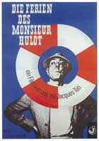 Mr. Hulot's Holiday - 11 x 17 Movie Poster - German Style B