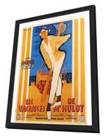 Mr. Hulot's Holiday - 27 x 40 Movie Poster - French Style A - in Deluxe Wood Frame