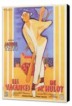 Mr. Hulot's Holiday - 11 x 17 Movie Poster - French Style A - Museum Wrapped Canvas