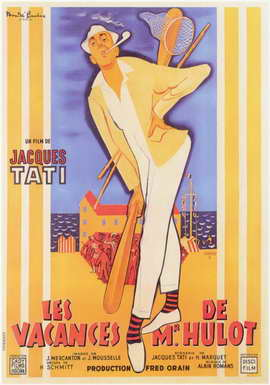 Mr. Hulot's Holiday - 11 x 17 Movie Poster - French Style A