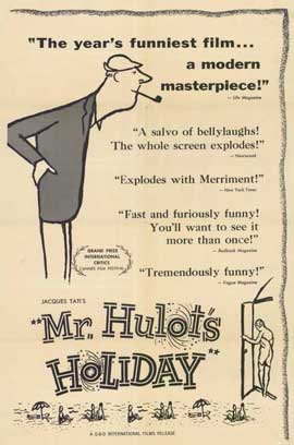 Mr. Hulot's Holiday - 11 x 17 Movie Poster - Style A