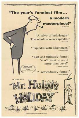 Mr. Hulot's Holiday - 27 x 40 Movie Poster - Style A