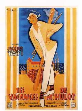Mr. Hulot's Holiday - 27 x 40 Movie Poster - French Style A