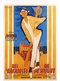 Mr. Hulot's Holiday - 43 x 62 Movie Poster - French Style A