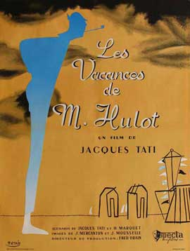 Mr. Hulot's Holiday - 11 x 17 Movie Poster - French Style B