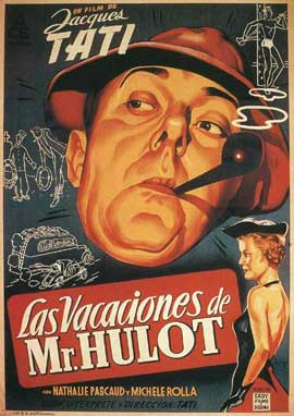 Mr. Hulot's Holiday - 11 x 17 Movie Poster - Spanish Style A
