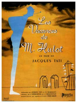 Mr. Hulot's Holiday - 11 x 17 Movie Poster - French Style C
