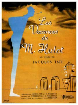 Mr. Hulot's Holiday - 27 x 40 Movie Poster - French Style B