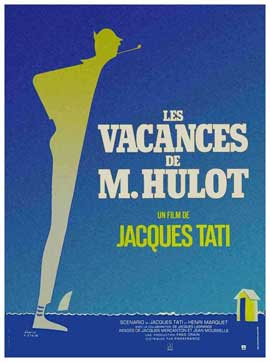 Mr. Hulot's Holiday - 11 x 17 Movie Poster - French Style E