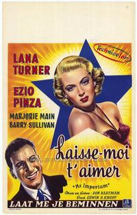 - 27 x 40 Movie Poster - Belgian Style A