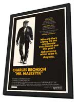 Mr. Majestyk - 11 x 17 Movie Poster - Style B - in Deluxe Wood Frame