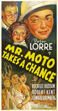 Mr. Moto Takes a Chance - 11 x 17 Movie Poster - Style A