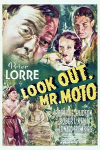 Mr. Moto Takes a Chance - 11 x 17 Movie Poster - Style B