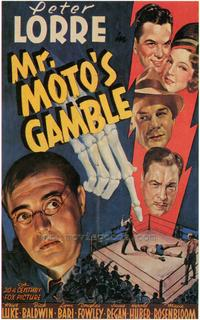 Mr. Motos Gamble - 43 x 62 Movie Poster - Bus Shelter Style A