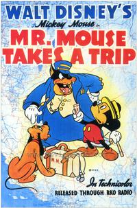 Mr. Mouse Takes a Trip - 27 x 40 Movie Poster - Style A