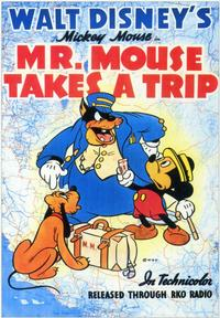 Mr. Mouse Takes a Trip - 43 x 62 Movie Poster - Bus Shelter Style A