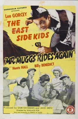 Mr. Muggs Rides Again - 11 x 17 Movie Poster - Style A