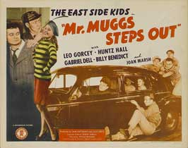Mr. Muggs Steps Out - 11 x 17 Movie Poster - Style B