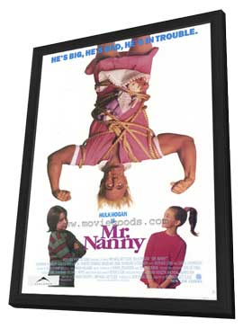 Mr. Nanny - 27 x 40 Movie Poster - Style A - in Deluxe Wood Frame