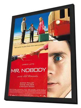 Mr. Nobody - 27 x 40 Movie Poster - French Style A - in Deluxe Wood Frame