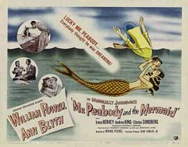 Mr. Peabody and the Mermaid - 11 x 14 Movie Poster - Style A