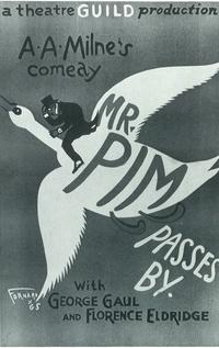 Mr. Pim Passes By (Broadway) - 14 x 22 Poster - Style A