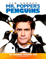 Mr. Popper's Penguins - 22 x 28 Movie Poster - UK Style A