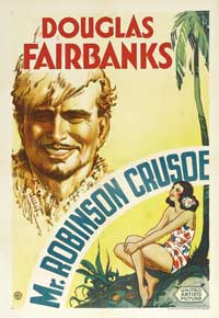Mr. Robinson Crusoe - 11 x 17 Movie Poster - Style A